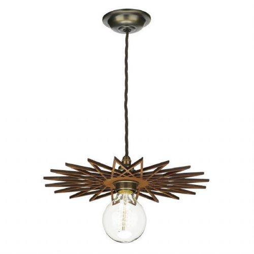 David Hunt Lighting, Pegasus Easy Fit Wooden Pendant Large, PEG8643 (Hand made, 7-10 day Delivery)